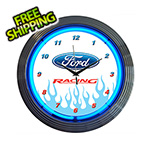 Neonetics 15-Inch Ford Racing Neon Clock