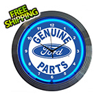 Neonetics 15-Inch Ford Genuine Parts Neon Clock