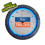 Neonetics 15-Inch Ford Trucks Neon Clock