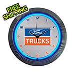 Neonetics 15-Inch Ford Trucks Neon Clock