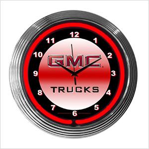 15-Inch GMC Truck Neon Clock