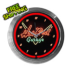 Neonetics 15-Inch Hot Rod Garage Neon Clock