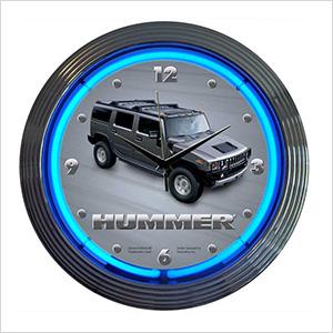 15-Inch Hummer Neon Clock