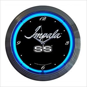 15-Inch Impala Neon Clock