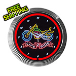 Neonetics 15-Inch Live 2 Ride Neon Clock