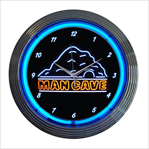 15-Inch Man Cave Neon Clock
