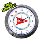 Neonetics 15-Inch Mopar Arrow Neon Clock