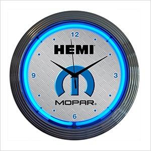 15-Inch Mopar Hemi Neon Clock