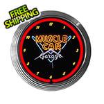 Neonetics 15-Inch Muscle Car Garage Neon Clock