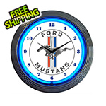 Neonetics 15-Inch Ford Mustang Neon Clock
