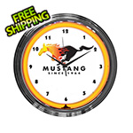 Neonetics 15-Inch Ford Mustang Since 1964 Neon Clock