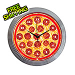 Neonetics 15-Inch Pizza Neon Clock
