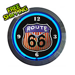 Neonetics 15-Inch Route 66 Neon Clock