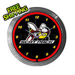 Neonetics 15-Inch Dodge Scat Pack Neon Clock