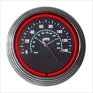 15-Inch Speedometer Neon Clock