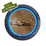Neonetics 15-Inch Spitfire Neon Clock