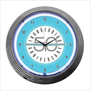 15-Inch Ford Thunderbird Neon Clock
