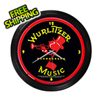 Neonetics 15-Inch Wurlitzer Johnny One Note Neon Clock