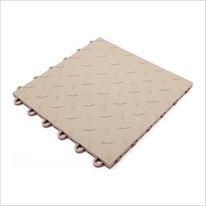 Beige Garage Floor Tile
