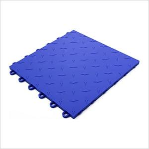Blue Garage Floor Tile