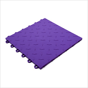 Purple Garage Floor Tile (25-Pack)