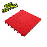 Turbo Tile Red Garage Floor Tile