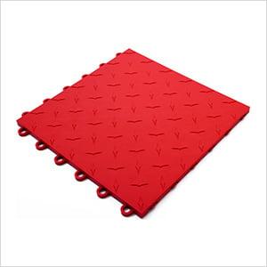 Red Garage Floor Tile