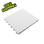 Turbo Tile White Garage Floor Tile