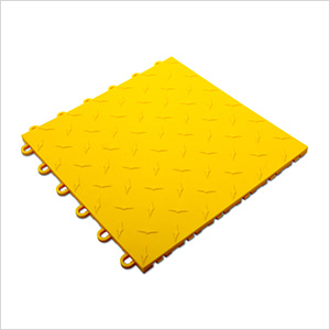 Yellow Garage Floor Tile