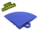 Turbo Tile Blue Garage Floor Tile Ramp Corner