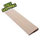 Turbo Tile Beige Garage Floor Tile Ramp - Male