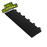 Turbo Tile Black Garage Floor Tile Ramp - Female