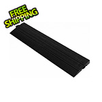 Turbo Tile Black Garage Floor Tile Ramp - Male