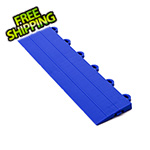 Turbo Tile Blue Garage Floor Tile Ramp - Female