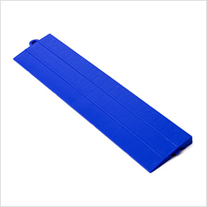 Blue Garage Floor Tile Ramp - Male