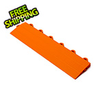 Turbo Tile Orange Garage Floor Tile Ramp - Female