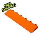 Turbo Tile Orange Garage Floor Tile Ramp - Female