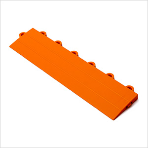 Orange Garage Floor Tile Ramp - Female