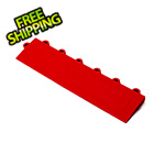 Turbo Tile Red Garage Floor Tile Ramp - Female
