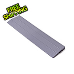 Turbo Tile Silver Garage Floor Tile Ramp - Male