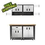 Gladiator GarageWorks 11-Piece RTA Garage Cabinet Set