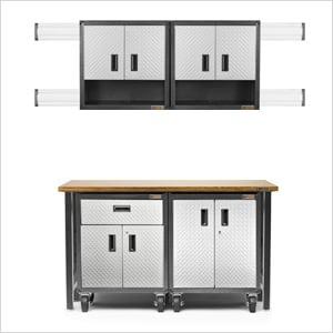 11-Piece RTA Garage Cabinet Set