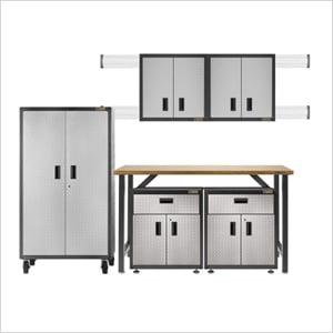 Ready-to-Assemble Garage Storage Set
