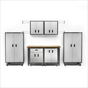 13-Piece RTA Garage Cabinet Set