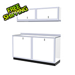 Moduline 5-Piece Aluminum Garage Cabinet Set (White)