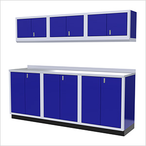 7-Piece Aluminum Cabinet Set (Blue)