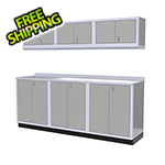 Moduline 7-Piece Aluminum Cabinet Set (Light Grey)
