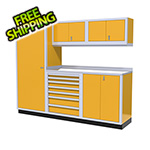 Moduline 6-Piece Aluminum Cabinet Set (Yellow)