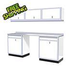 Moduline 7-Piece Aluminum Garage Storage Set (White)