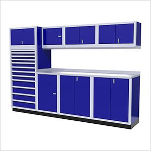 9-Piece Aluminum Cabinet System (Blue)